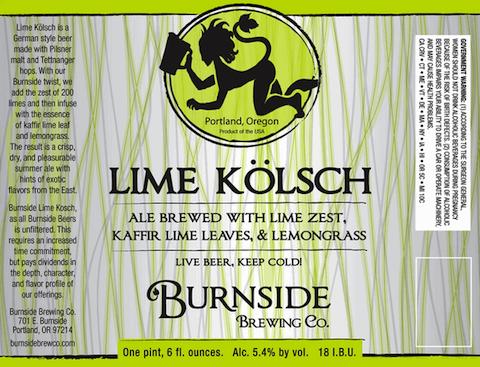 Burnside-Lime-Kölsch