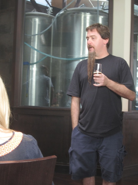 Brian talking about the current Haven beer line-up