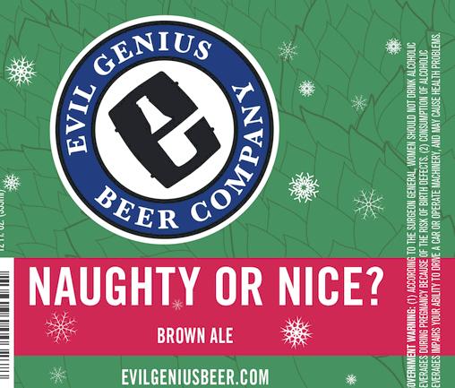 Evil Genius Naughty-or-Nice-Brown-Ale