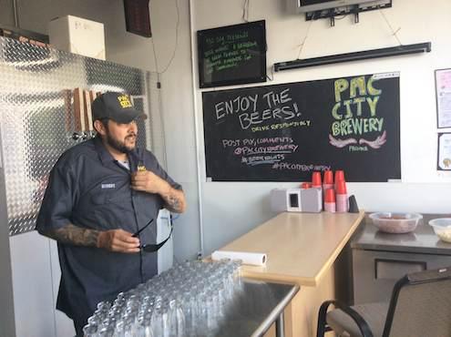 Robert Cortez donning the Pac City shirt