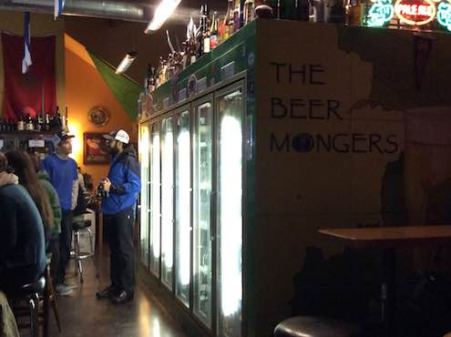 Hitting up Beer Mongers and running into other beer folk