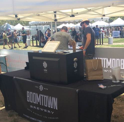 Boomtown setting up shop for the first time at LABW