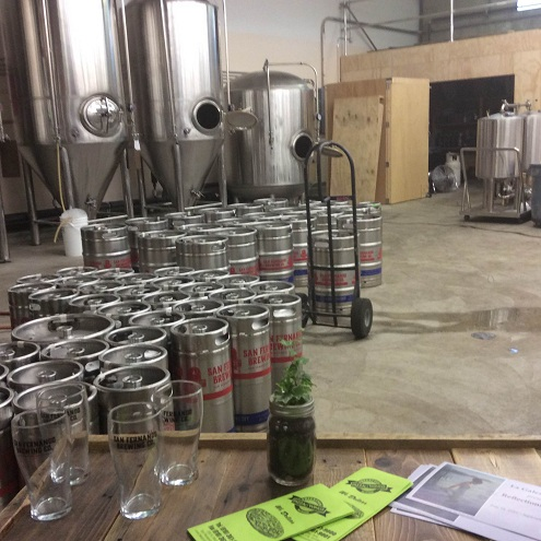 The Brewing area...