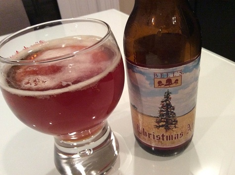 Bells Christmas Ale.Featured Review Christmas Ale From Bell S