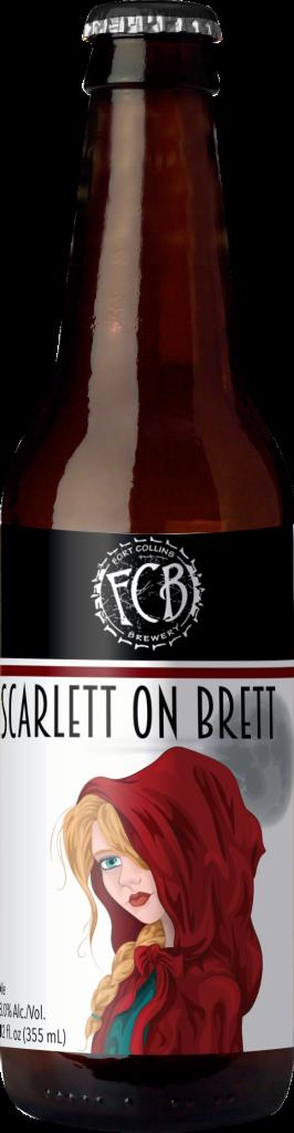 bottle mockup scarlett