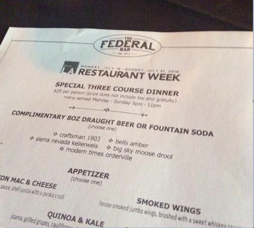 Dine L A  @ Federal Bar