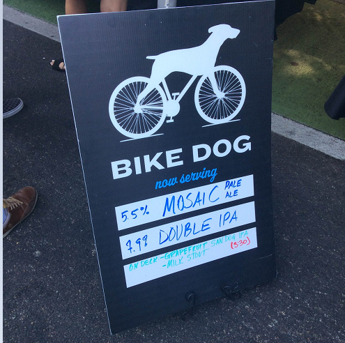 The festival choices from Bike Dog.