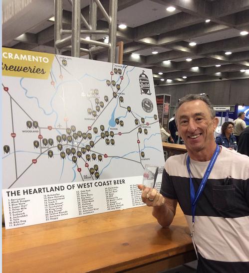 The full Sacramento brewing map.